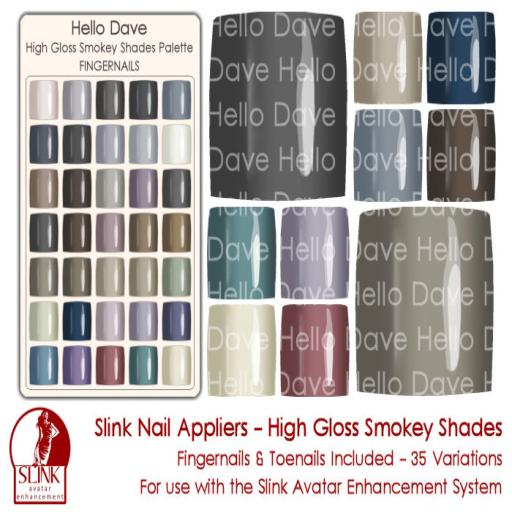 High Gloss Smokey Shades ad
