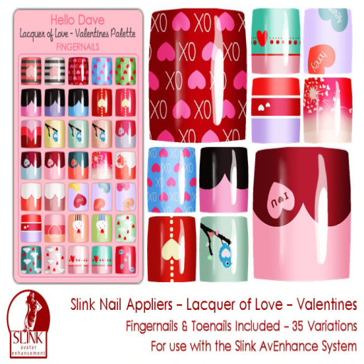 Lacquer of Love Valentines ad